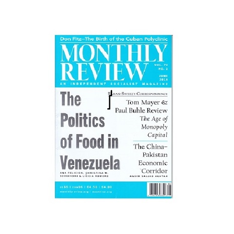 Monthly Review, vol 70, N°2, junio 2018