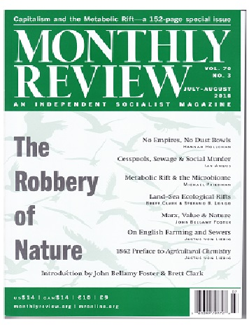 Monthly Review, vol.70, N°3, julio-agosto 2018