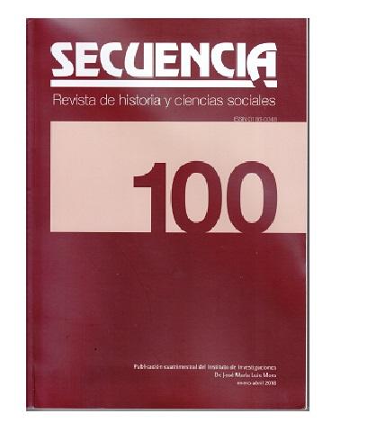 Secuencia, N°100, enero-abril 2018