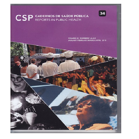 Cadernos de Saúde Pública, 34, enero-abril 2018, Río de Janeiro
