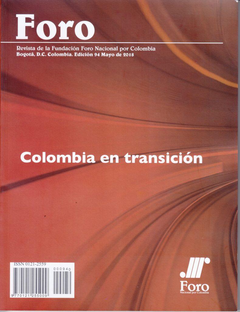 Foro 94, 24 de mayo de 2018, Bogotá