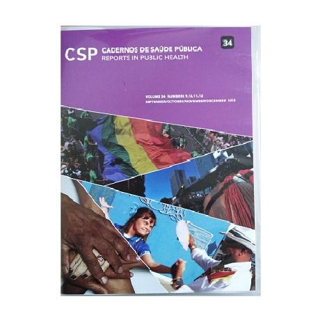 CSP Cadernos De Saúde Pública. Vol. 34, No. 9,10,11,12. Sept./Oct./Nov./Dic. 2018.