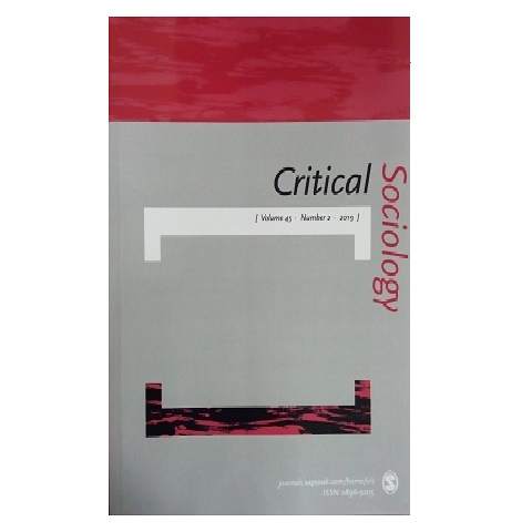 Critical Sociology. Vol. 45. No. 2. 2019.
