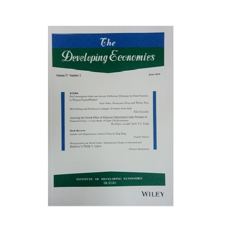 The Developing Economies. Vol. 57, Nº 2. Junio 2019.